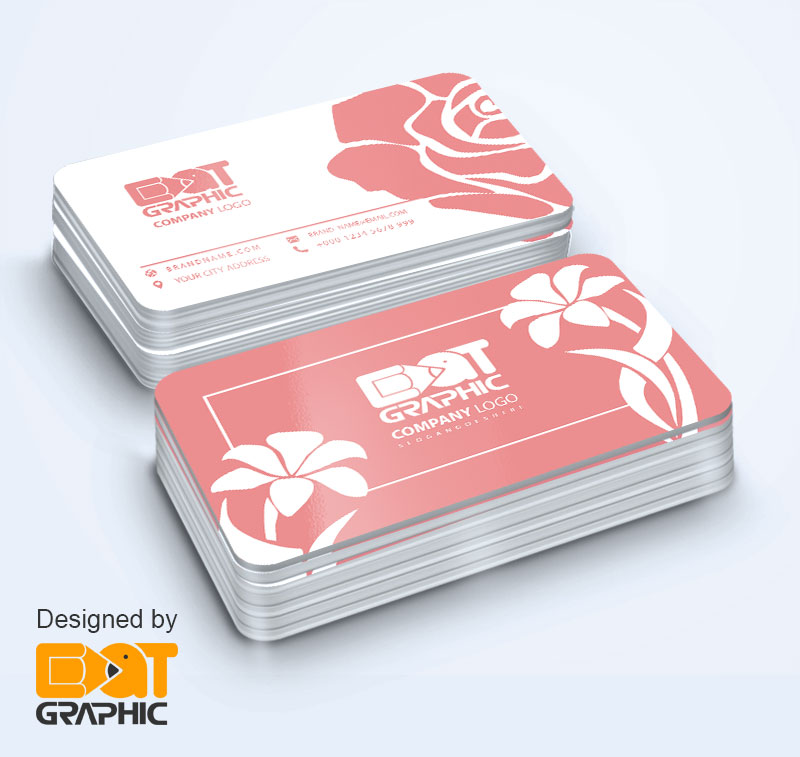 florist business card examples