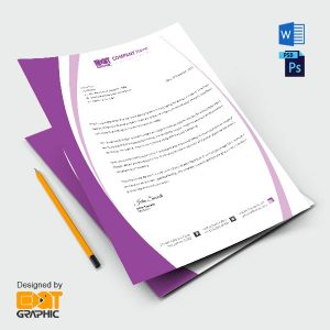 Letterhead Template word