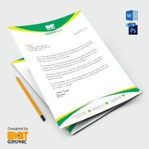 letterhead example word