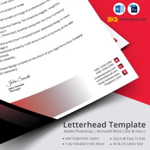 unique letterhead design