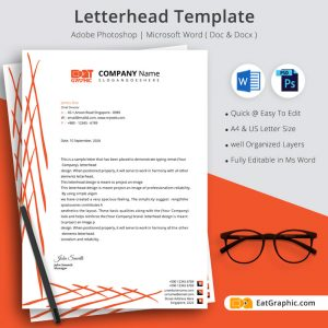 business letterhead examples