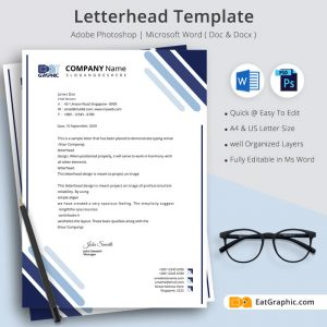 letterhead word template download